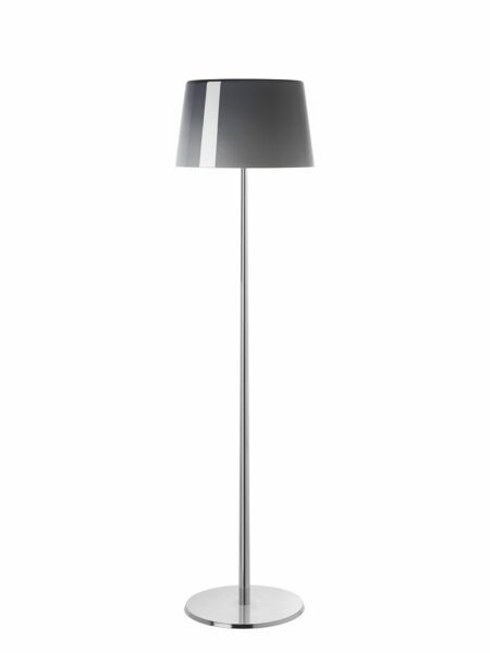 Foscarini Stehleuchte Lumiere XXL Grau/Aluminium