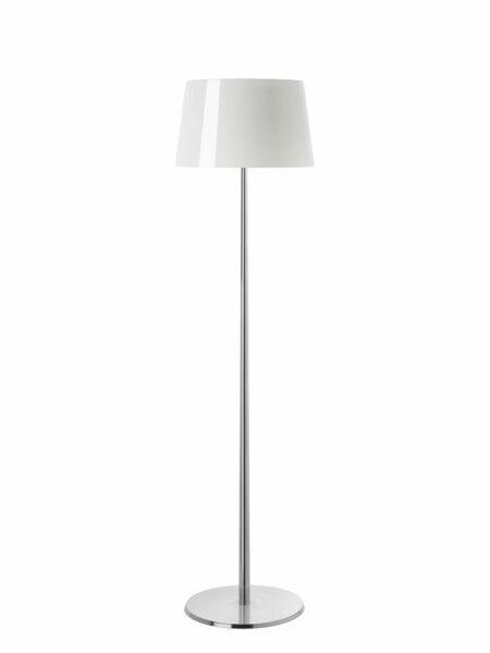 Foscarini Stehleuchte Lumiere XXL Weiß/Aluminium