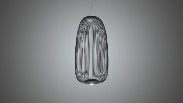 Foscarini Pendelleuchte Spokes 1 Dunkelgrau