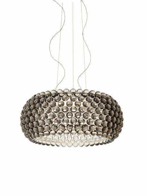 Foscarini Pendelleuchte Caboche Grande Plus LED Grau