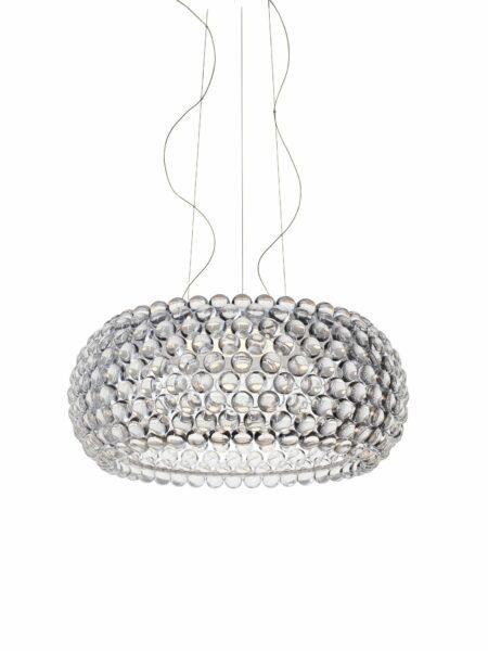 Foscarini Pendelleuchte Caboche Grande Plus LED Transparent