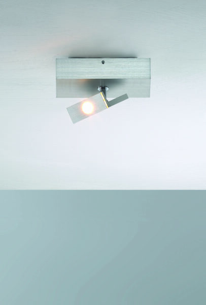 Bopp Deckenleuchte Elle 1-flammig Aluminium geschliffen