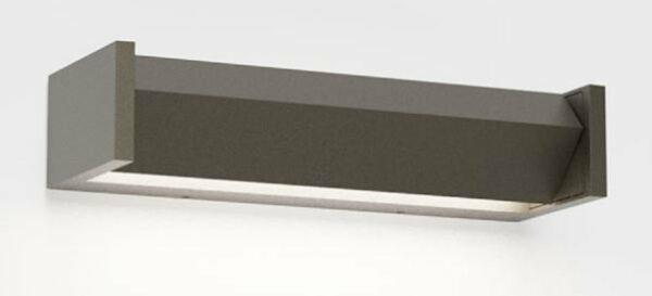 IP44.de Wandaußenleuchte Slat One Cool Brown - Außenleuchten