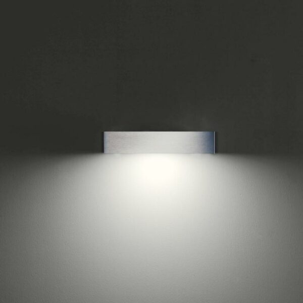 IP44.de Wandaußenleuchte Lumen Down Edelstahl - Lampen & Leuchten