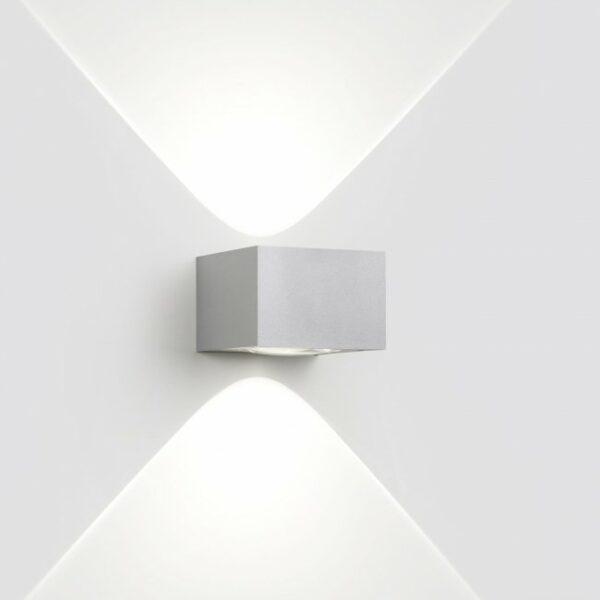 Deltalight Außenleuchte Vision Out Alu-Grau - Außenleuchten