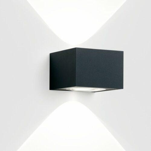 Deltalight Wandaußenleuchte Vision Out Dunkelgrau - Außenleuchten
