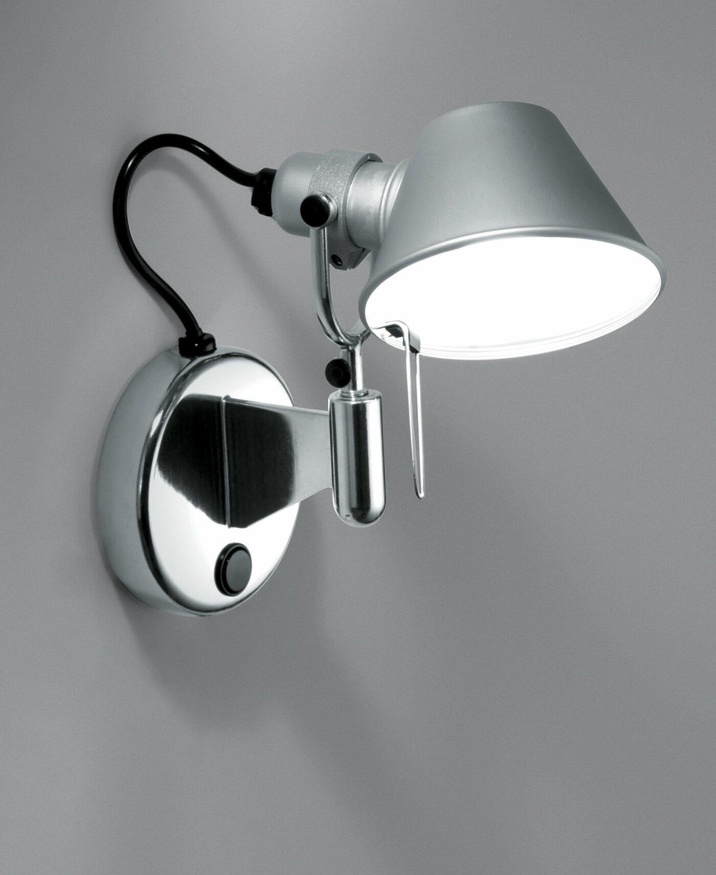 Artemide Tolomeo Micro Faretto LED mit Kippschalter