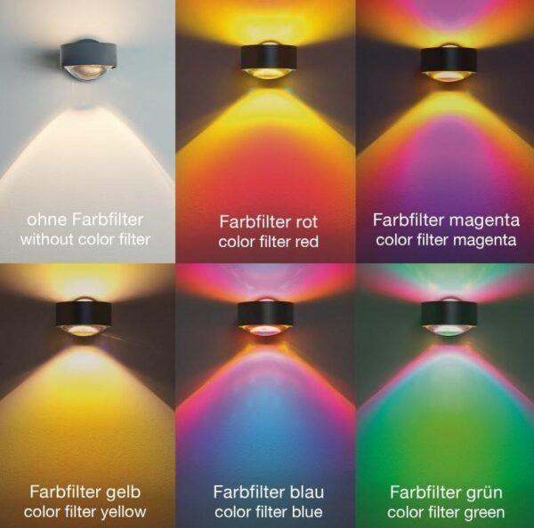Top Light Deckenleuchte Puk Choice Side 2-flammig Halogen