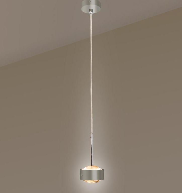 Top Light Pendelleuchte Puk Drop Solo LED Nickel matt
