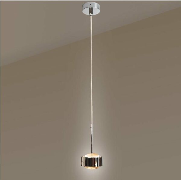 Top Light Pendelleuchte Puk Drop Solo LED Chrom