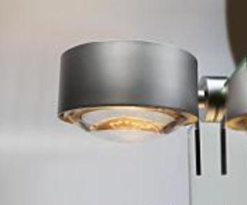 Top Light Spiegel-Schraubklemmleuchte Puk Fix + Halogen Chrom matt