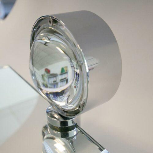 Top Light Spiegel-Schraubklemmleuchte Puk Fix Halogen Chrom Detail
