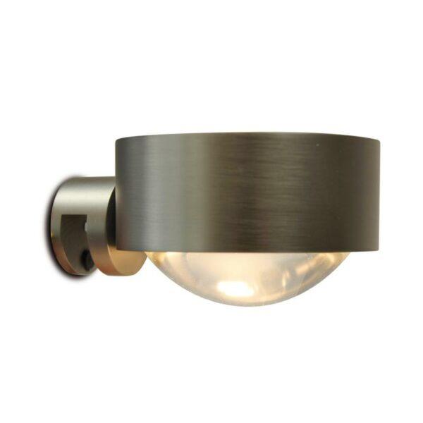 Top Light Spiegel-Schraubklemmleuchte Puk Fix Halogen Nickel matt
