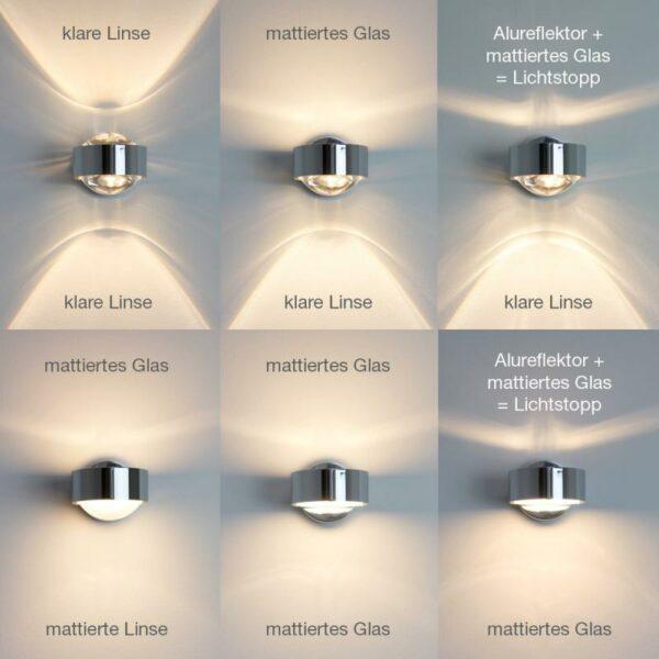 Top Light Spiegel-Schraubklemmleuchte Puk Fix LED