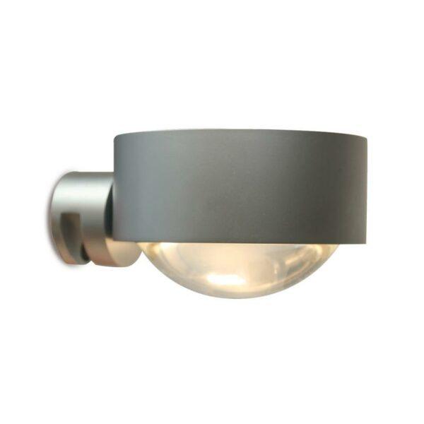 Top Light Spiegel-Schraubklemmleuchte Puk Fix LED Chrom matt