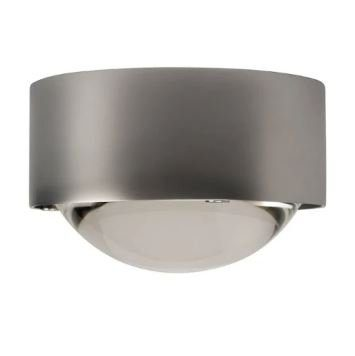 Top Light Stehleuchte Puk Floor Single Mini Halogen Nickel matt
