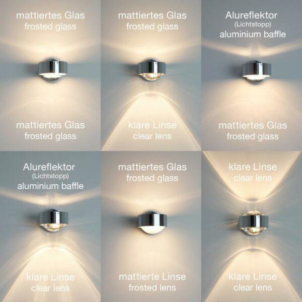 Top Light Wandleuchte Puk Hotel LED