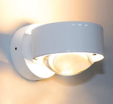 Top Light Wandleuchte Puk Wall LED Weiß