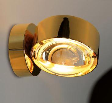 Top Light Wandleuchte Puk Wall LED Gold