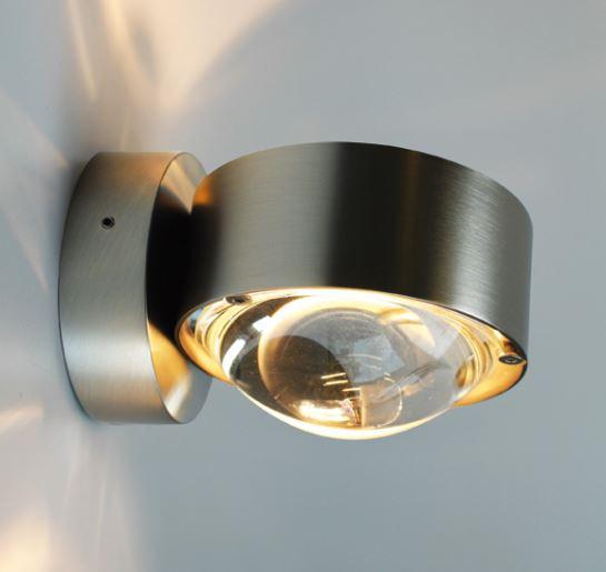 Top Light Wandleuchte Puk Wall LED Chrom Matt