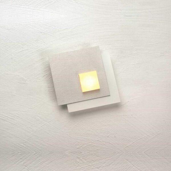Bopp Deckenleuchte Pixel 1-flammig Weiß-Aluminium