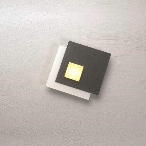 Bopp Deckenleuchte Pixel 1-flammig Weiß-Anthrazit