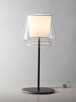 Casablanca Tischleuchte Aleve Aluminium pulverbeschichtet mit Dimmer - Lampen & Leuchten