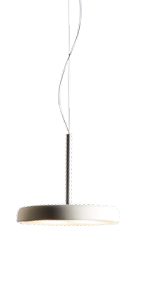 Casablanca Pendelleuchte Clavio Flat LED Cremeweiß - Pendelleuchten