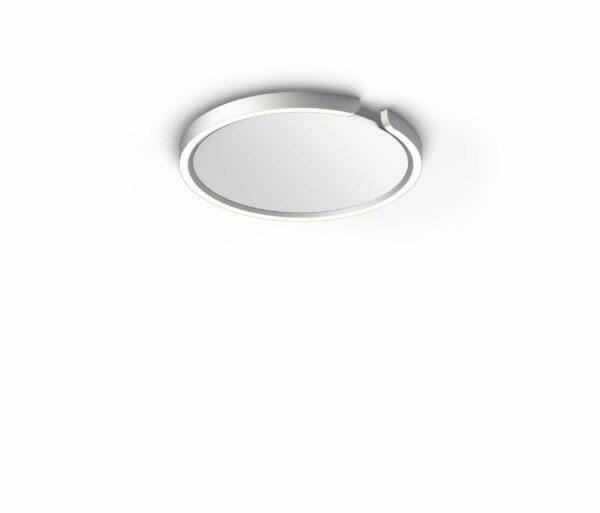 Occhio Deckenleuchte Mito soffitto 40 up narrow Silber matt