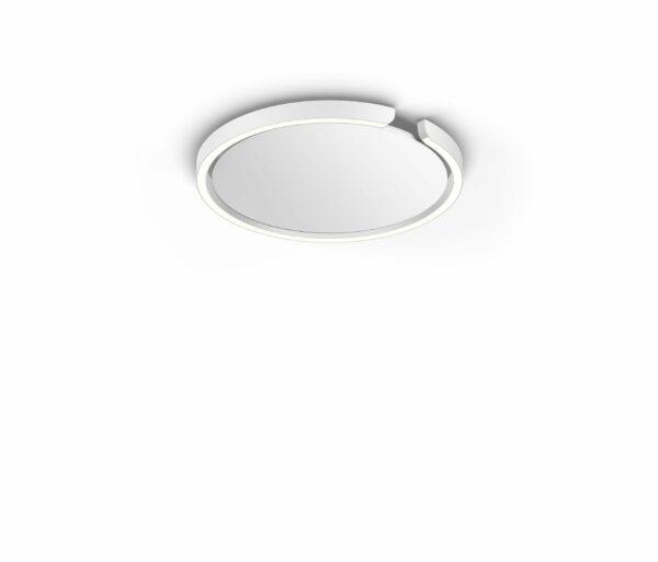 Occhio Deckenleuchte Mito soffitto 40 up narrow Weiß matt