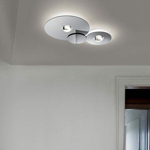 Lodes / Studio Italia Design Deckenleuchte Bugia Double 2700 K - Lampen & Leuchten