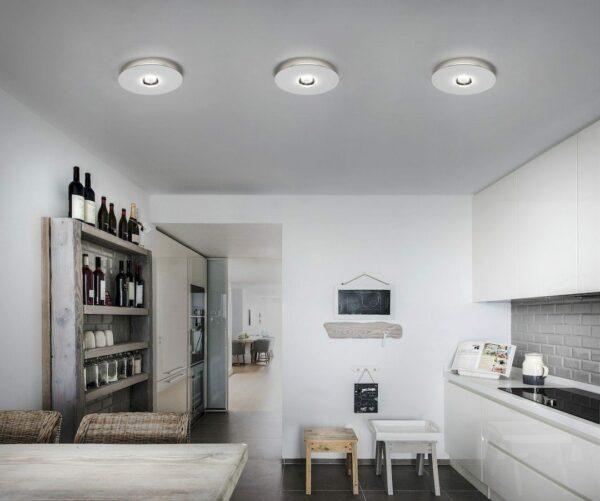 Studio Italia Design Deckenleuchte Bugia Single Weiß