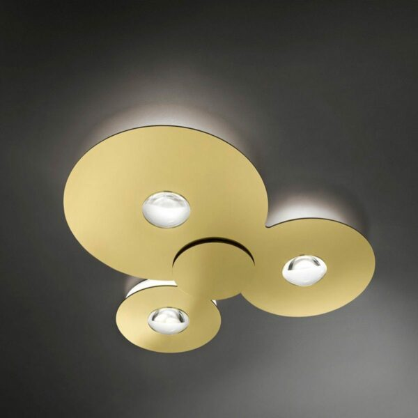 Lodes / Studio Italia Design Deckenleuchte Bugia Triple 3000 K - Lampen & Leuchten