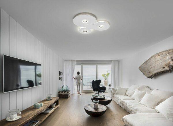 Lodes Deckenleuchte Bugia Triple 2700 K - Lampen & Leuchten