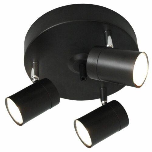 By Rydéns Deckenleuchte Correct 3-flammig Schwarz matt - Lampen & Leuchten