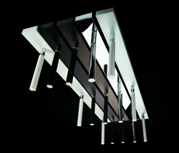 LDM Aufbaudeckenleuchte Ecco LED Spot Trio - Lampen & Leuchten