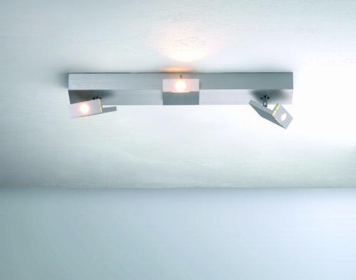Bopp Deckenleuchte Elle LED Aluminium geschliffen