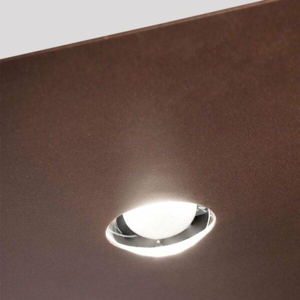 Studio Italia Design Deckenleuchte Frozen Large Bronze