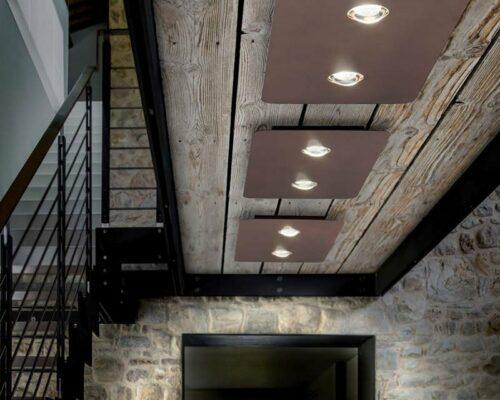Studio Italia Design Deckenleuchte Frozen Medium Bronze - Innenleuchten