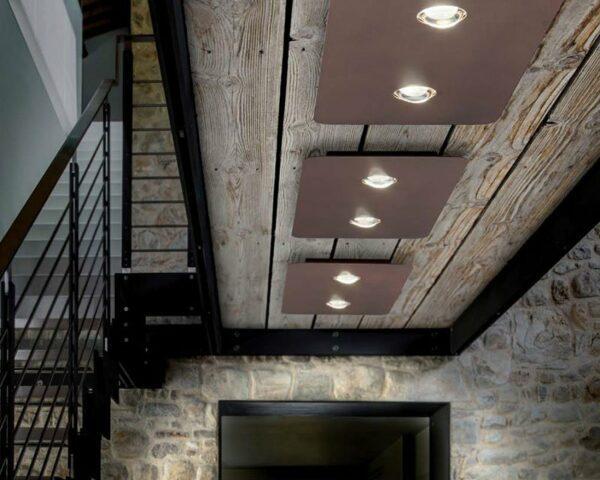 Lodes Deckenleuchte Frozen Medium Bronze - Lampen & Leuchten