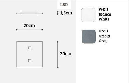 Icone Deckenleuchte Isi Q2 - Lampen & Leuchten