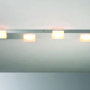 Bopp Deckenleuchte Lamina 4-flammig dimmbar HV-LED Alumium geschliffen