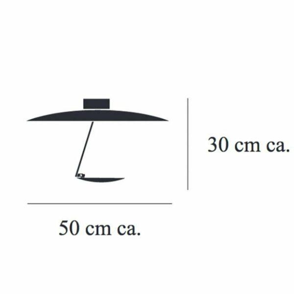 Catellani & Smith Deckenleuchte Lederam C150 - Lampen & Leuchten