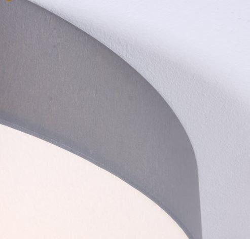 Hufnagel Deckenleuchte Luna LED Hellgrau, 2700 K, 4 Größen - Deckenleuchten Innen