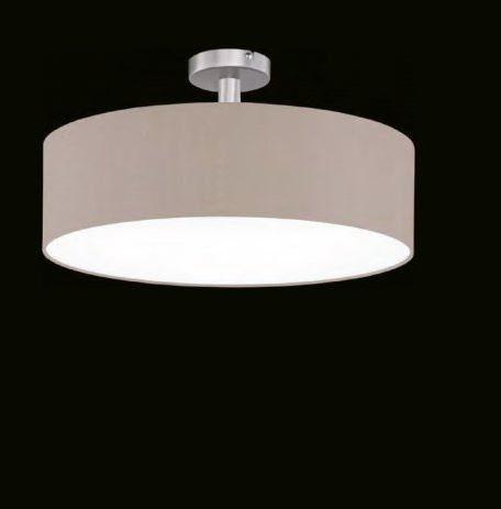 Hufnagel Deckenleuchte Mara Melange, mit Abstandhalter, 3 Größen - Lampen & Leuchten