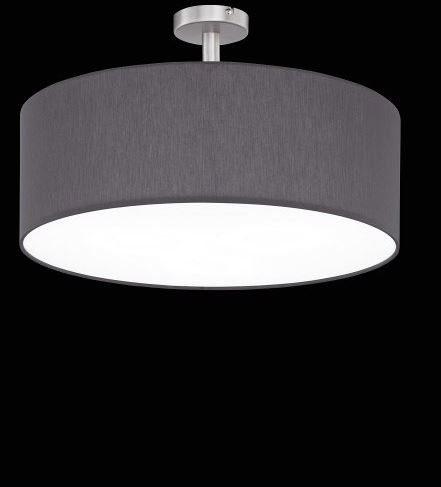 Hufnagel Deckenleuchte Mara Schiefer, mit Abstandhalter, 3 Größen - Lampen & Leuchten