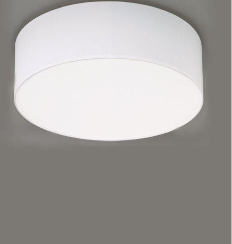 Hufnagel Deckenleuchte Mara Weiß, Schirmhöhe 17 cm, 3 Größen - Deckenleuchten Innenbereich