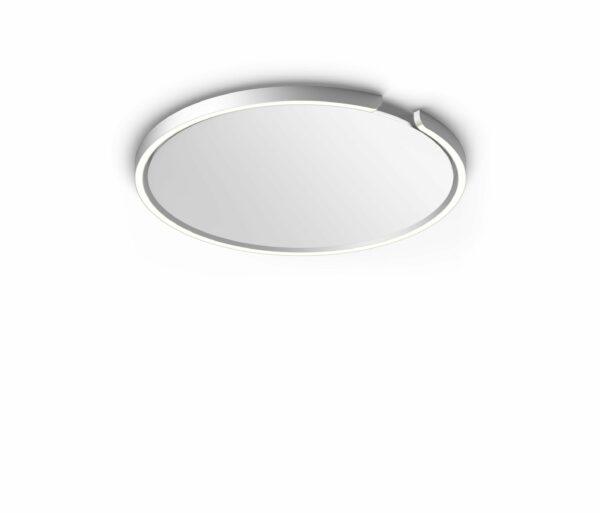 Occhio Deckenleuchte Mito soffitto 60 up narrow Silber matt