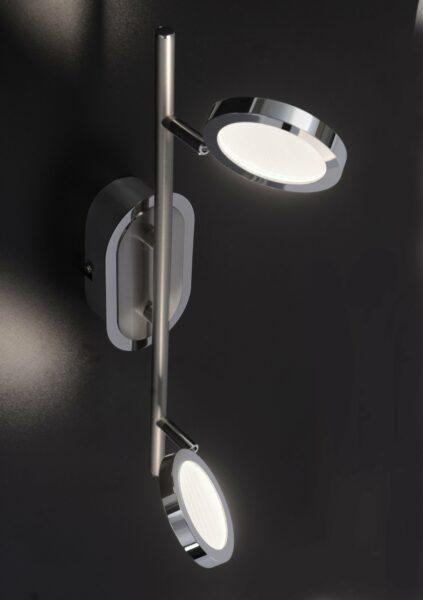 Paul Neuhaus Deckenleuchte Nola 2-flammig Stahl - Lampen & Leuchten