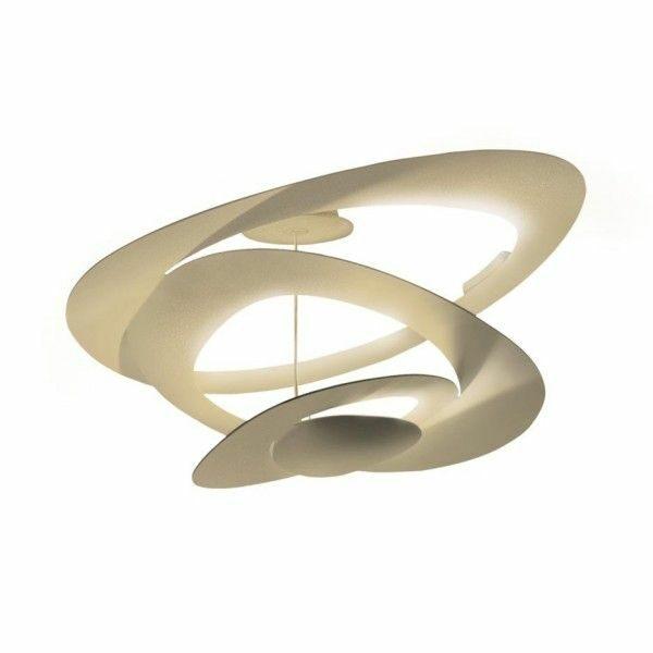 Artemide Deckenleuchte Pirce Mini Soffitto LED Gold